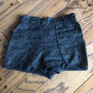 Urban Outfitters Metallic Shorts